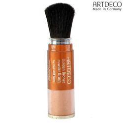 Artdeco Face Et Body Golden Finish Powder Brush Cheryyle Golden -GPB7