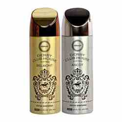 Armaf Derby Club House Belmont, Derby Club House Ascot Pack of 2 Deodorants