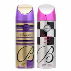 Armaf Baroque And Baroque Pink Pack Of 2 Deodorants