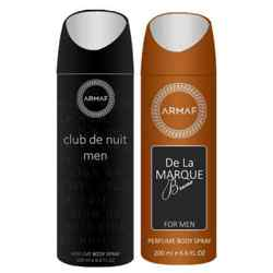 Armaf Club De Nuit And De La Marque Brune Pack Of 2 Deodorants