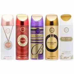 Armaf High Street, Edition One, Baroque, Vanity Femme Elegance And Tag Her Pack Of 5 Deodorants