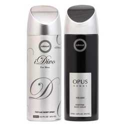 Armaf Idiva And Opus Pack Of 2 Deodorants
