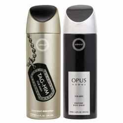 Armaf Opus And Tag Him Pack Of 2 Deodorants