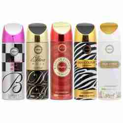 Armaf Skin Couture, Baroque Pink, Idiva Noir, Vanity Femme Gold And High Street Pack Of 5 Deodorants