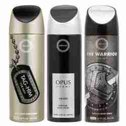 Armaf Tag Him, Opus And Warrior Pack Of 3 Deodorants