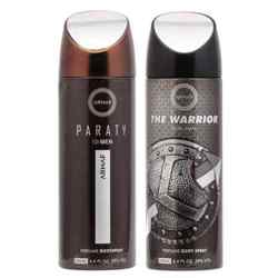 Armaf The Warrior, Paraty Pack of 2 Deodorants
