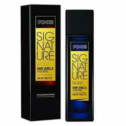 Axe Signature Gold Dark Vanilla And Oud Wood EDT Perfume