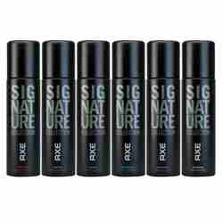 Axe Signature Value Pack Of 6 Body Perfume Spray