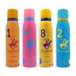 BHPC Sport 1982 Pack Of 4 Lasting Deodorants