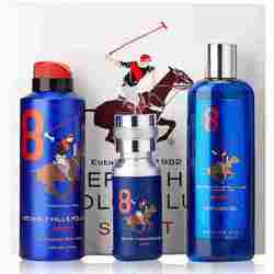 BHPC Sports No 8 - 3 Piece Giftset
