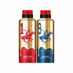 Beverly Hills Polo Club Gold Edition Mustang And Blazer Pack of 2 Deodorants