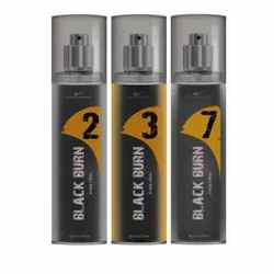 Black Burn 2,3,7 Set of 3 Alcohol Free Deodorants