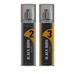 Black Burn 2 And 3 Set of 2 Alcohol Free Deodorants