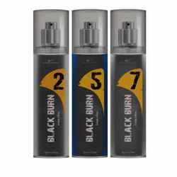 Black Burn 2,5,7 Set of 3 Alcohol Free Deodorants
