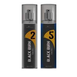 Black Burn 2 And 5 Set of 2 Alcohol Free Deodorants