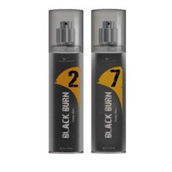 Black Burn 2 And 7 Set of 2 Alcohol Free Deodorants