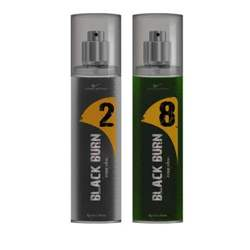 Black Burn 2 And 8 Set of 2 Alcohol Free Deodorants