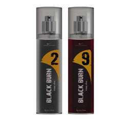 Black Burn 2 And 9 Set of 2 Alcohol Free Deodorants