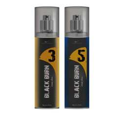 Black Burn 3 And 5 Set of 2 Alcohol Free Deodorants