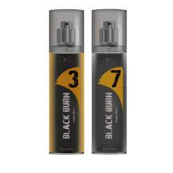 Black Burn 3 And 7 Set of 2 Alcohol Free Deodorants