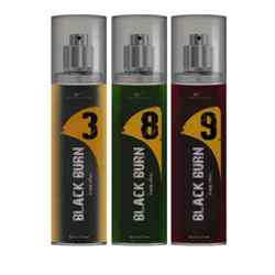 Black Burn 3,8,9 Set of 3 Alcohol Free Deodorants