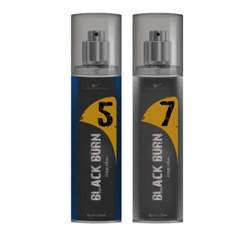Black Burn 5 And 7 Set of 2 Alcohol Free Deodorants