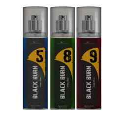 Black Burn 5,8,9 Set of 3 Alcohol Free Deodorants