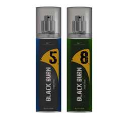 Black Burn 5 And 8 Set of 2 Alcohol Free Deodorants