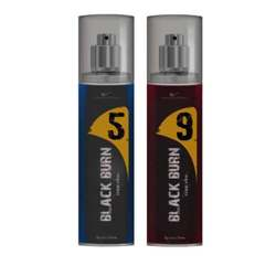 Black Burn 5 And 9 Set of 2 Alcohol Free Deodorants