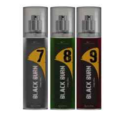 Black Burn 7,8,9 Set of 3 Alcohol Free Deodorants