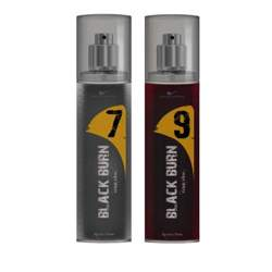 Black Burn 7 And 9 Set of 2 Alcohol Free Deodorants