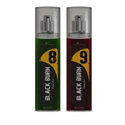 Black Burn 8 And 9 Set of 2 Alcohol Free Deodorants