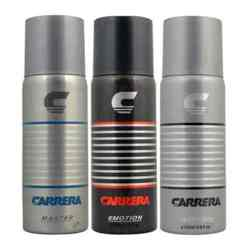 Carrera Emotion, Impression, Master Pack of 3 Deodorants