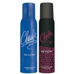 Charlie Blue And Neon Chic Set of 2 Deodorants