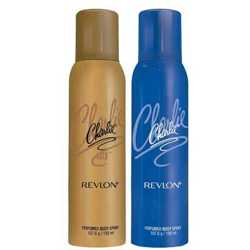 Charlie Gold And Blue Set of 2 Deodorants