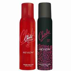 Charlie Red And Neon Chic Set of 2 Deodorants