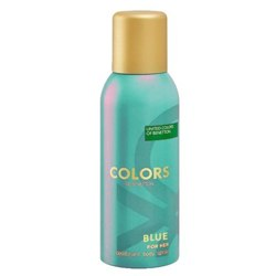Colors De Benetton Blue Deodorant Spray