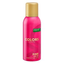 United Colors Of Benetton Colors De Benetton Pink Deodorant Spray