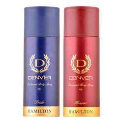 Denver Hamilton Pride And Honour Pack of 2 Deodorants