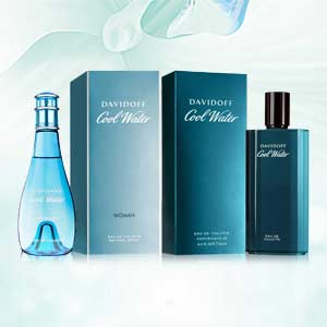 Davidoff Cool Water Men And Women Pack Of 2 Perfumes