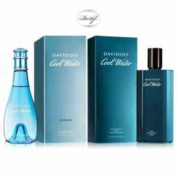 Davidoff Cool Water Men And Women Deodorant Combo