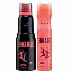 Engage Rush, Blush Pack of 2 Deodorants
