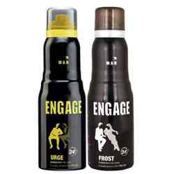 Engage Frost, Urge Pack of 2 Deodorants