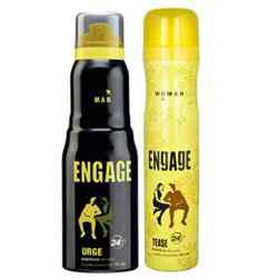 Engage Urge, Tease Pack of 2 Deodorants