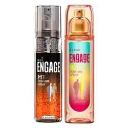 Engage M1 W1 Value Pack of 2 Perfumes