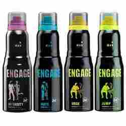 Engage Intensity Jump Urge Mate  Pack Of 4 Deodorants For Men