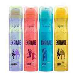 Engage Drizzle Blush Spell Tease Pack of 4 Deodorants