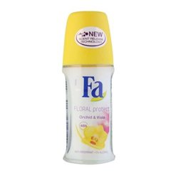Fa Floral Protect Orchid and Viola Anti-Perspirant Deodorant Roll On