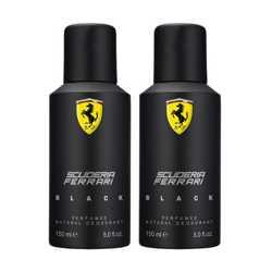 Ferrari Black Pack of 2 Deodorants