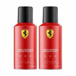 Ferrari Red Pack of 2 Deodorants